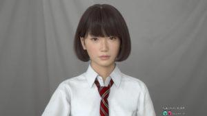 Гипер реалистичный 3D персонаж Saya