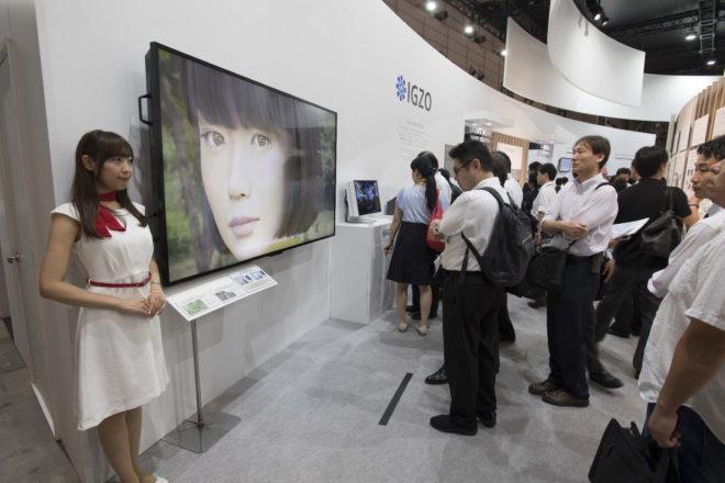 Презентация 3D персонажа на выставки современных технологий в Токио