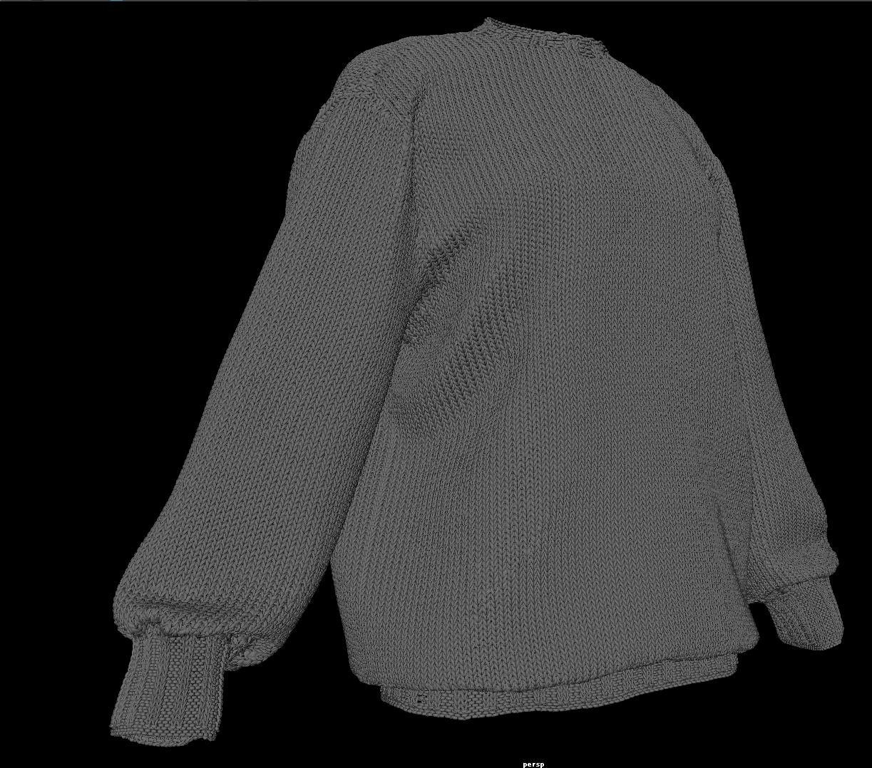 Моделирование свитера